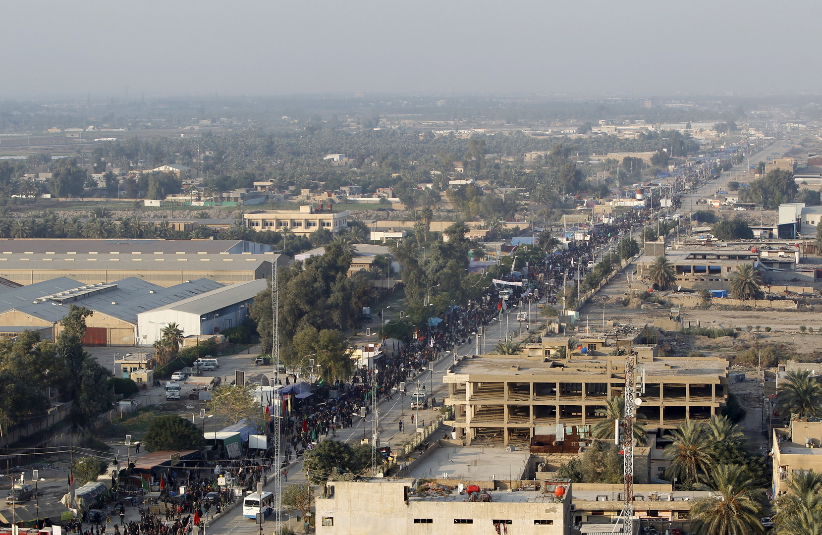 Tensions à la frontière entre l'Iran et l'Irak sur fond de pèlerinage des chiites (PHOTOS)