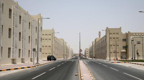 La nouvelle cité-dortoir est située à 14 kilomètres de Doha.