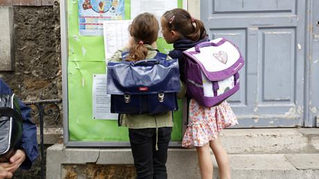 Les élèves de l'école Jules Ferry à Fontenay-sous-Bois