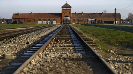 Le camp d'extermination d'Auschwitz-Birkenau, en Pologne