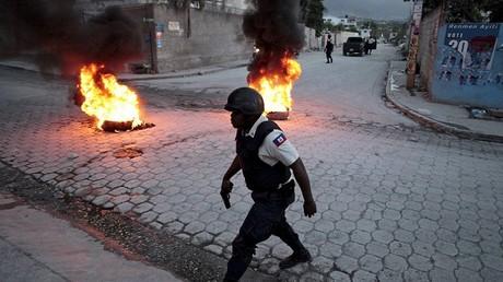 Scènes de désolation dans la capitale haïtienne suite à la proclamation des résultats électoraux provisoires