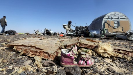 Le lieu du crash de l'A321
