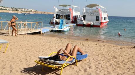 Très fréquentée par les touristes russe, la station balnéaire de Charm el-Cheikh s'inquiète pour son avenir