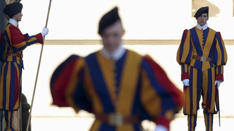 Les gardes suisses du Vatican