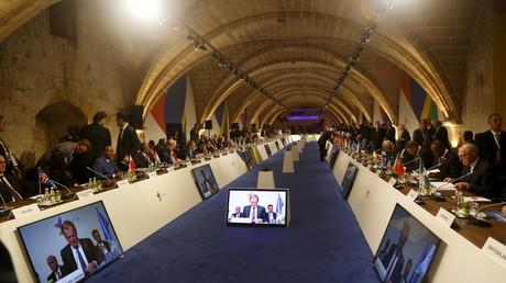 Le sommet des dirigeants européens et africaine à La Valette