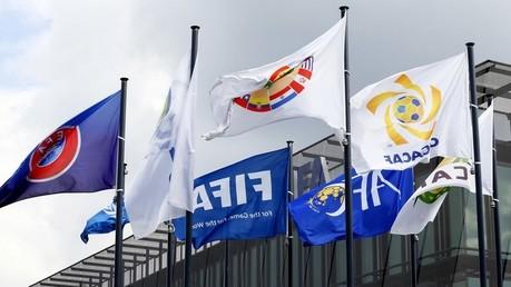 Drapeaux de la FIFA