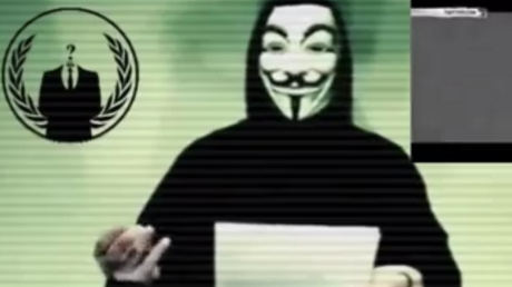 Capture vidéo Anonymous