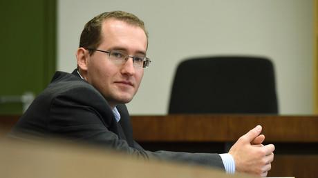 Markus Reichel à son procès pour espionnage à Munich