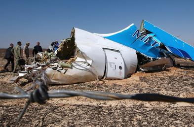 Débris de l'A321