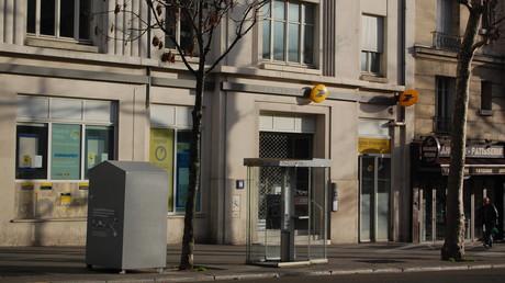 Une agence de la Banque Postale