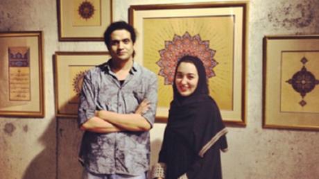 Le poète palestinien Ashraf Fayyad.