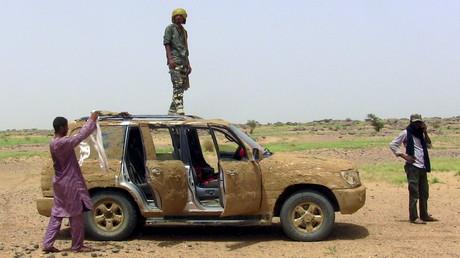Les combattants touaregs à Mali