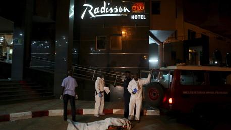 L'hôtel Radisson à Bamako