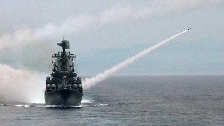 Le croiseur lance-missile russe «Moskva»