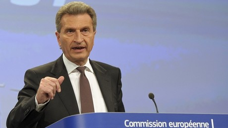Günther Oettinger.