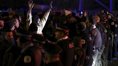 Manifestations à chicago