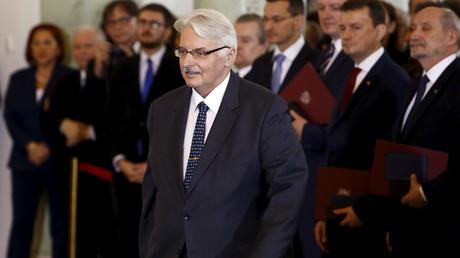 Les récentes déclarations de Witold Waszczykowski n'ont pas été appréciées de Moscou.