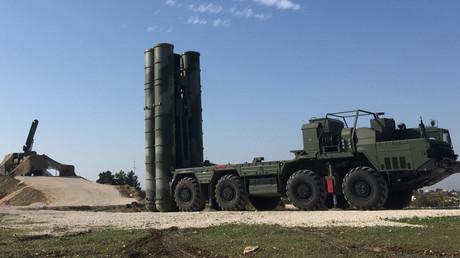 Le système S-400 a été déployé au dessus de la base syrienne de Khmeimim