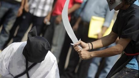 L'Arabie saoudite va procéder à la mise à mort par décapitation de plus de 50 personnes reconnues coupables de terrorisme.