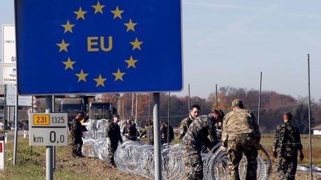 La frontière de l'Union européenne