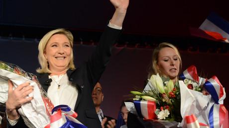 Le parti de Marine Le Pen est en position de s'imposer dans plusieurs régions, dont le Provence-Alpes-Côte-d'Azur, où Marion Marechal-Le Pen est candidate.