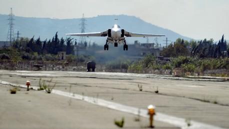 Un bombardier russe SU-24 en Syrie