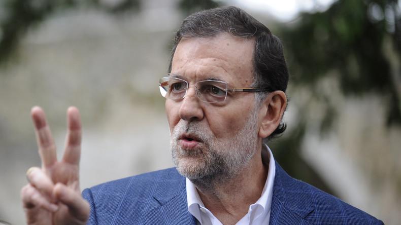 Video le premier ministre espagnol prend un coup de for Ministre francais