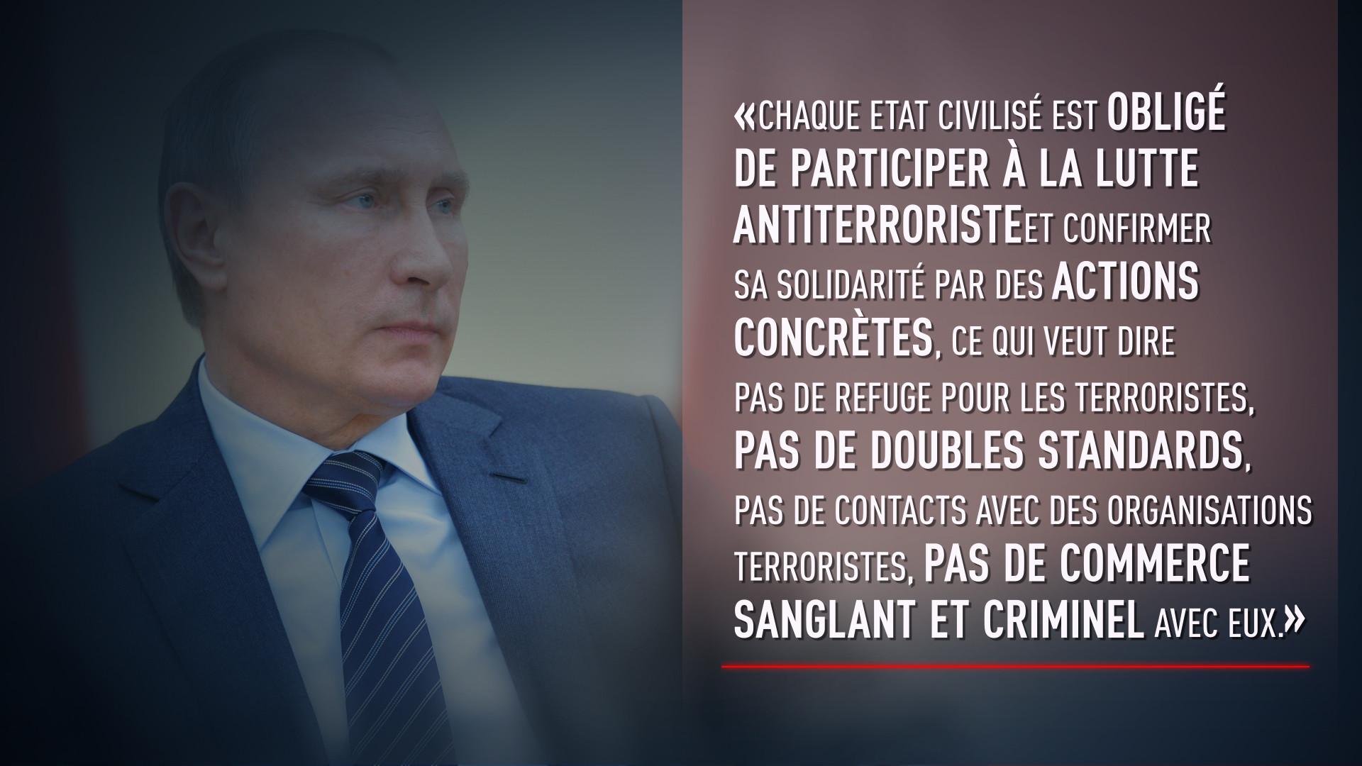Les cinq citations les plus fortes de l'intervention de Vladimir Poutine devant le Parlement russe