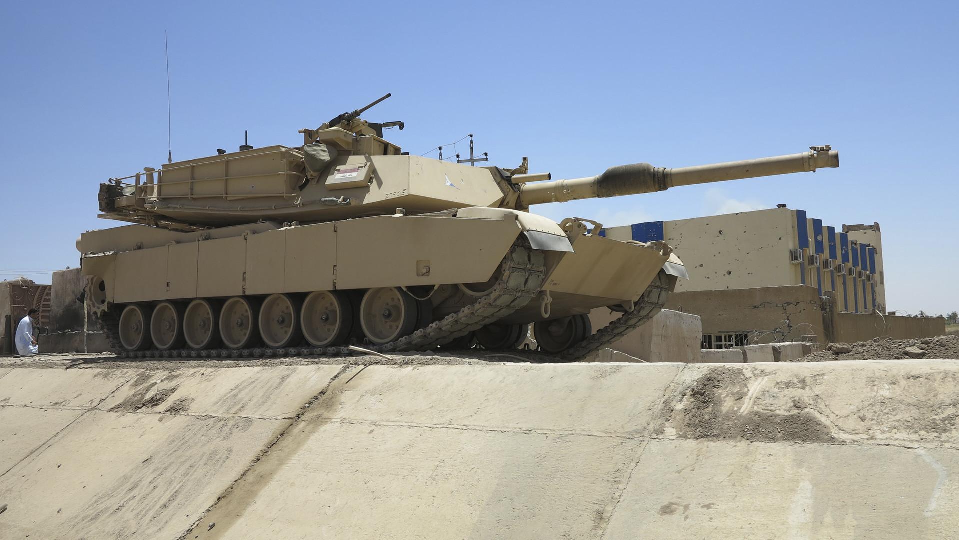 Si les tanks utilisés par Daesh sont avant tout de fabrication russe, les combattants de l'Etat islamique auraient mis la main sur un char Abrams américain de l'armée irakienne