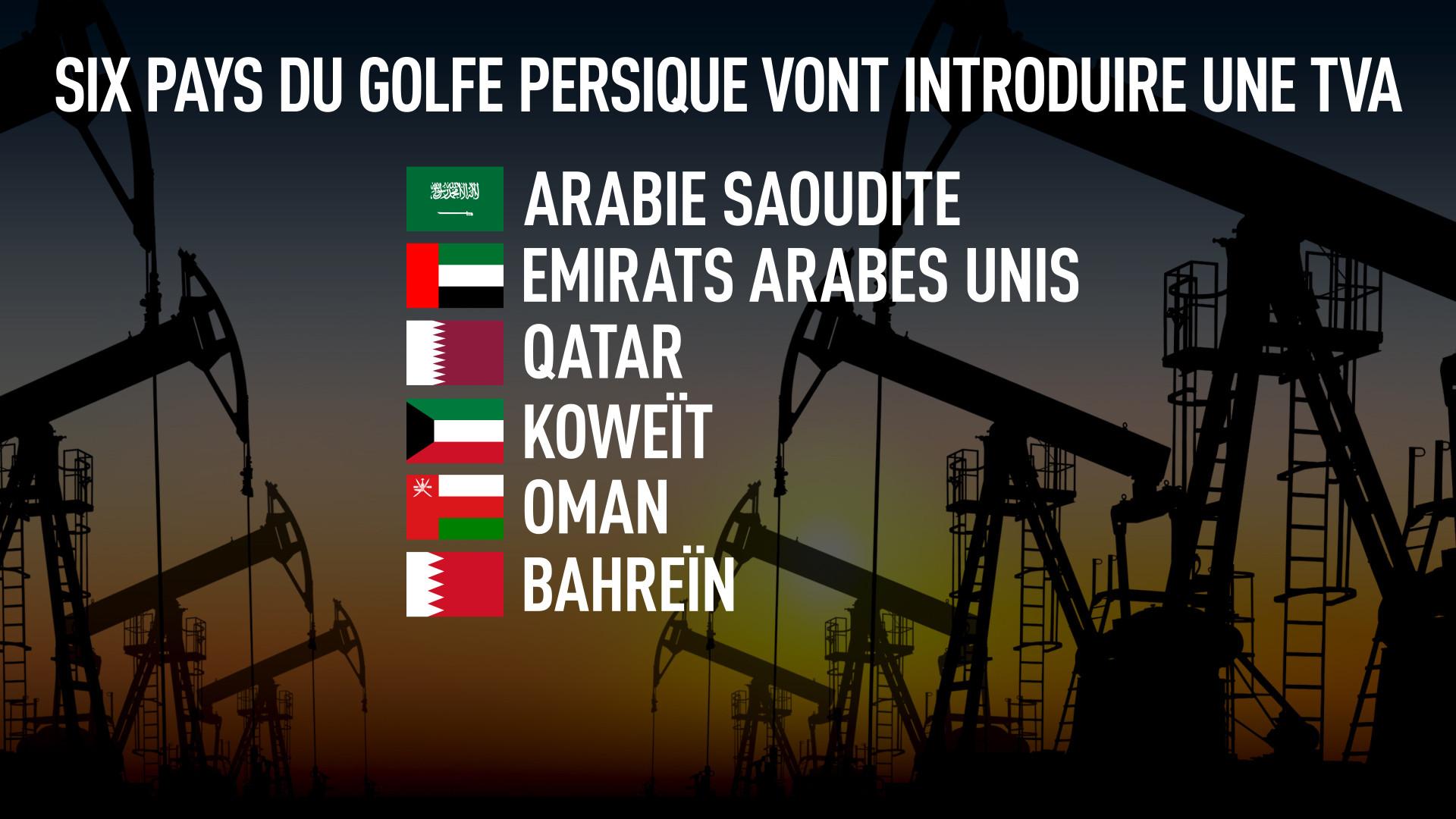 Ces 6 pays du Golfe