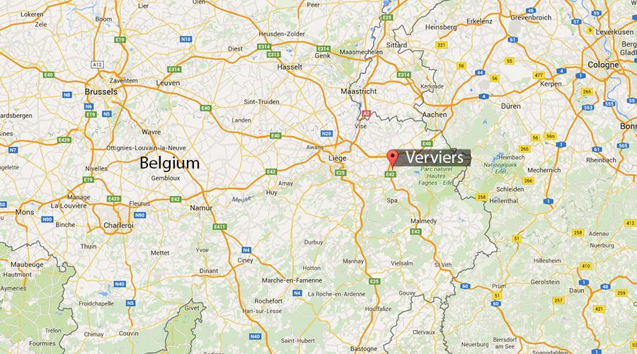 14 blessés légers dans la violente explosion d'une façade dans la ville belge de Verviers