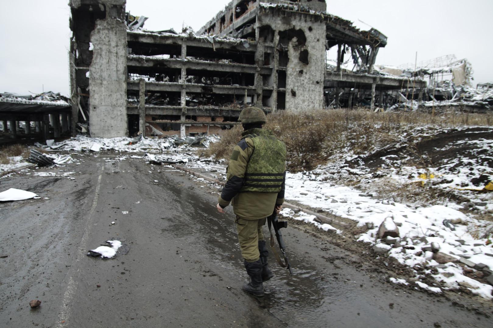 L'airoport de Donetsk