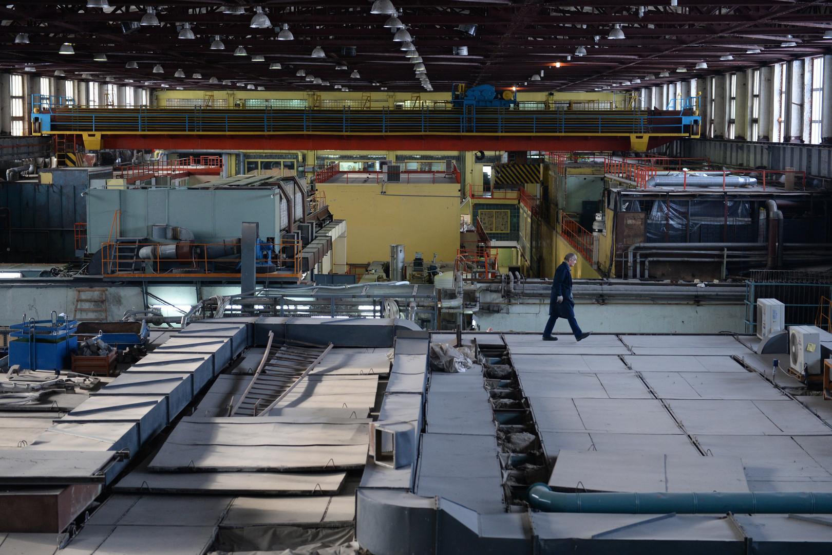 Les locaux du complexe nucléaire à Novossibirsk