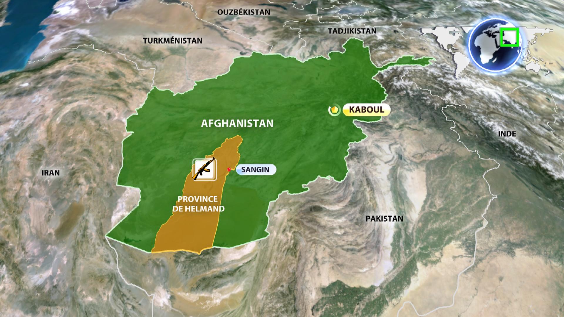 Afghanistan : les talibans veulent s'emparer de Sangin, l'OTAN riposte par des frappes aériennes