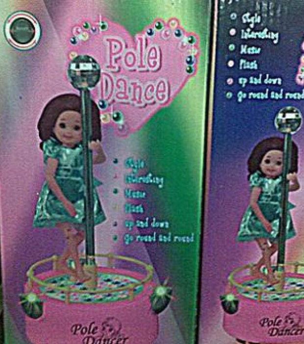 Poupée pole dance