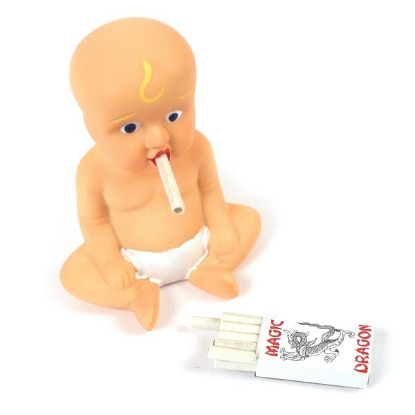jouet bébé qui fume