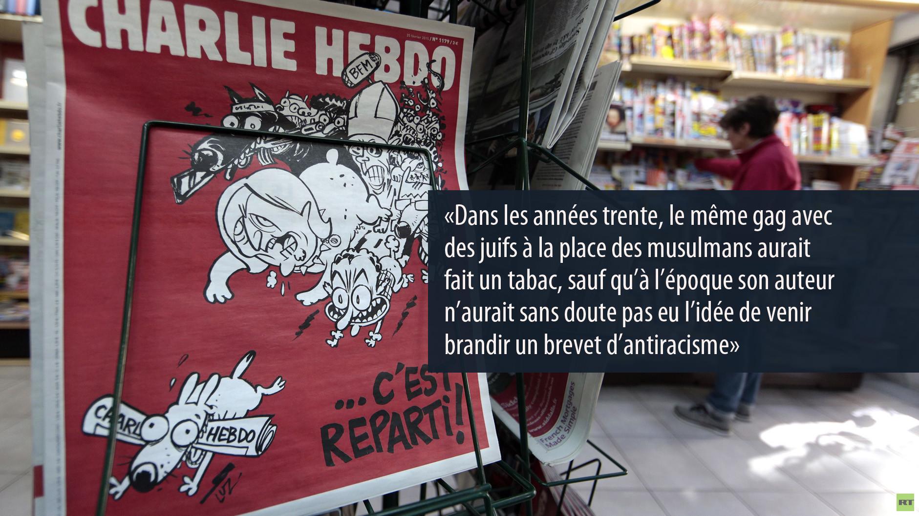 L'ex de Charlie Hebdo balance.