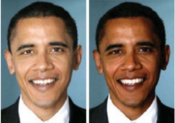 Obama rendu «plus noir» sur les publicités de campagne du Parti républicain, selon une étude