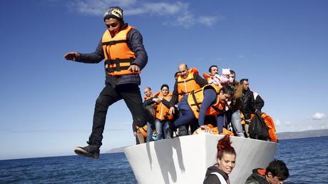 650 000 réfugiés sont arrivés sur l'île grecque de Lesbos depuis la Turquie depuis le début de l'année.