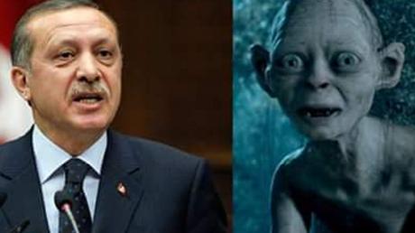 Recep Tayyip 'Gollum' Erdogan ?