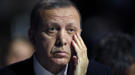 Le président turc Recep Tayyip Erdogan lors de la COP21
