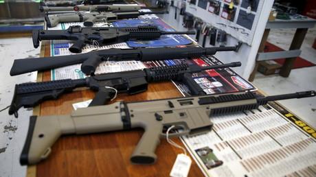 Un magasin de vente d'armes à Roseburg, aux Etats-Unis/