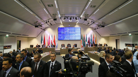 La rencontre des membres de l'OPEP à Vienne