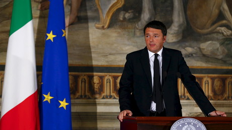 Le président du Conseil italien Matteo Renzi a indiqué que l'Italie ne rejoindrait pas la coalition contre Daesh dirigée par les Etats-Unis