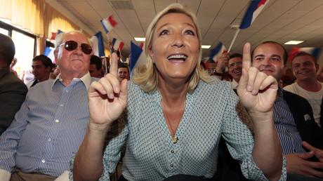La président du Front National Marine Le Pen
