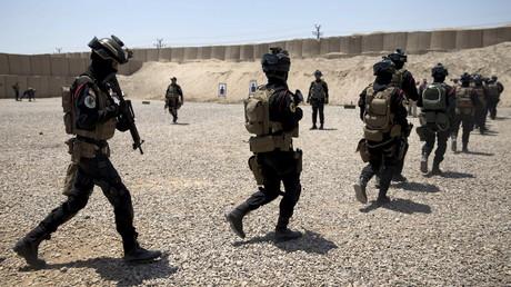Les forces anti-terroristes irakiennes ont été formées par l'armée américaine