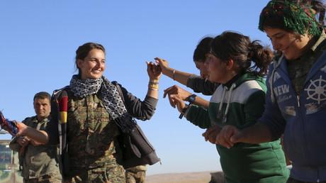 La combattante kurde, nouvelle terreur de Daesh.