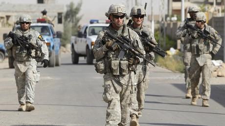 Des militaires américains en Irak