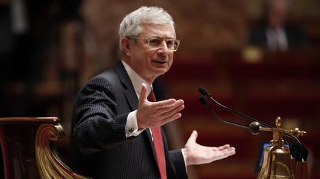 Claude Bartolone à l'Assemblée Nationale