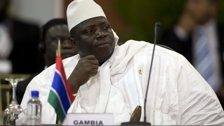 Le président gambien, Yahya Jammeh
